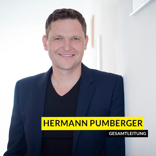Hermann Pumberger - Gesamtleitung